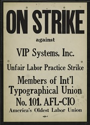 On Strike against VIP Systems Inc