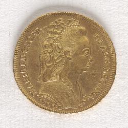 6,400 Reis, Brazil, 1800