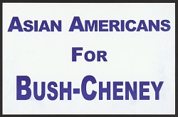 Asian Americans For Bush-Cheney