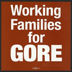 Working Women Vote / Working Families for Gore