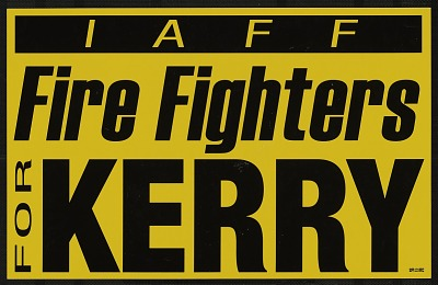 Fire Fighters for Kerry