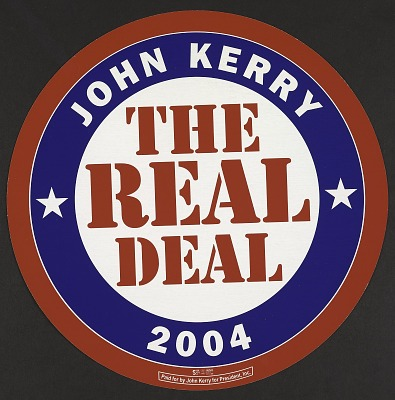 The Real Deal, John Kerry 2004