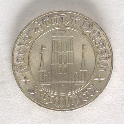 5 Gulden, The Free City of Danzig, 1932