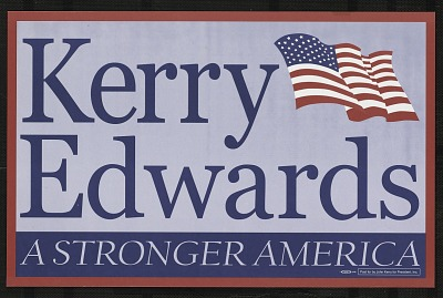 Kerry Edwards, A Stronger America