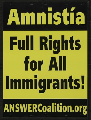 Amnistia / Full Rights for All Immigrants!