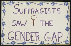 Suffragists Saw the Gender Gap
