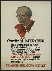 """""""Cardinal Mercier Has Appealed to the Food Administration"""""""