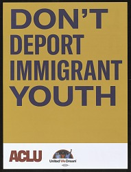 Don't Deport Immigrant Youth