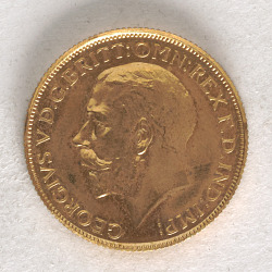 1 Sovereign, South Africa, 1923