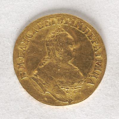 1 Ducat, Russia, 1753