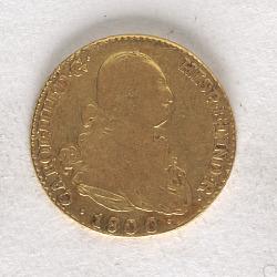 2 Escudos, Spain, 1800