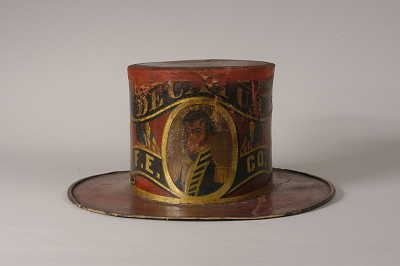 Decatur Fire Engine Company Fire Hat