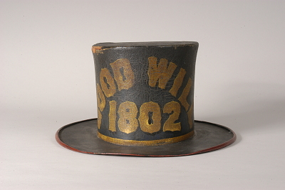 Good Will Fire Company Fire Hat