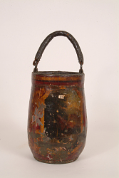 "Fire Bucket, ""Red Painting"""