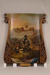 """""""Battle of Lexington, 19th April, 1775"""" Engine Panel Painting"""