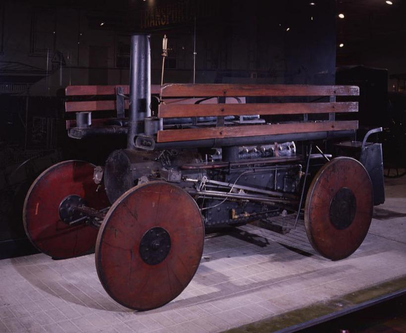 1866 steam car