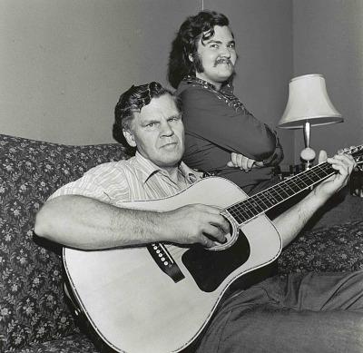 Doc Watson and Merle Watson
