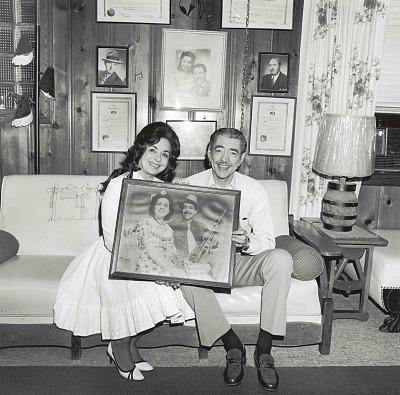 Stoney and Wilma Lee Cooper