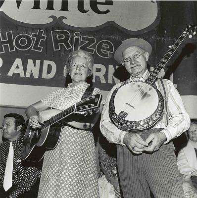 Grandpa Jones and Ramona Jones