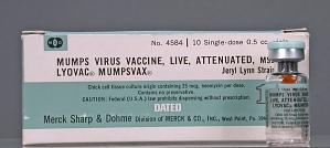 images for Lyovac Mumpsvax - Mumps Virus Vaccine, Live, Attenuated, MSD - Jeryl Lynn Strain-thumbnail 1