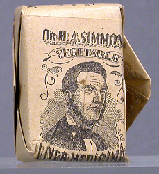 Dr M A Simmons' Vegetable Liver Medicine