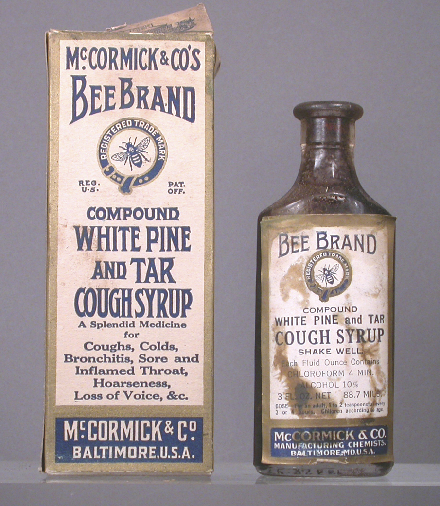Bee Brand White Pine And Tar Cough Syrup Compound Smithsonian Institution