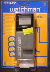 """Sony """"Watchman"""" portable television"""