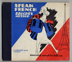 sound recording: Speak French - Brochès Method