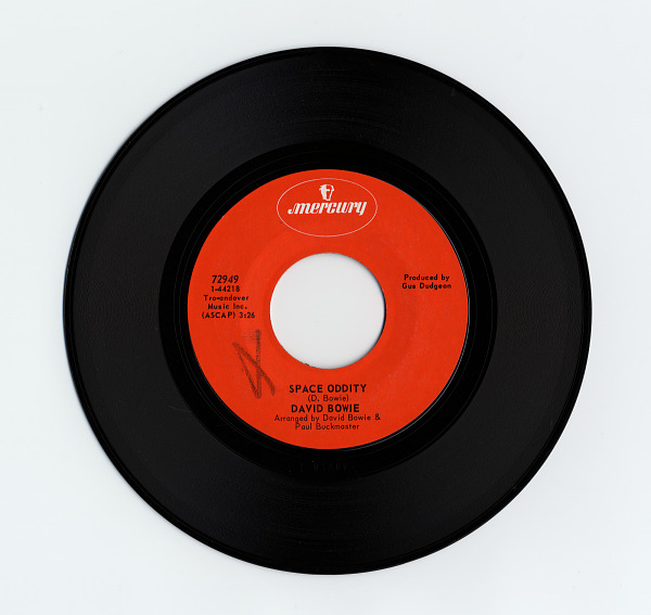 Image 1 for sound recording: Space Oddity; Wild Eyed Boy From Freecloud