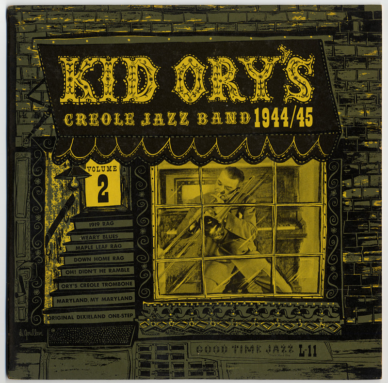 Image 1 for Kid Ory's Creole Jazz Band, Volume 2