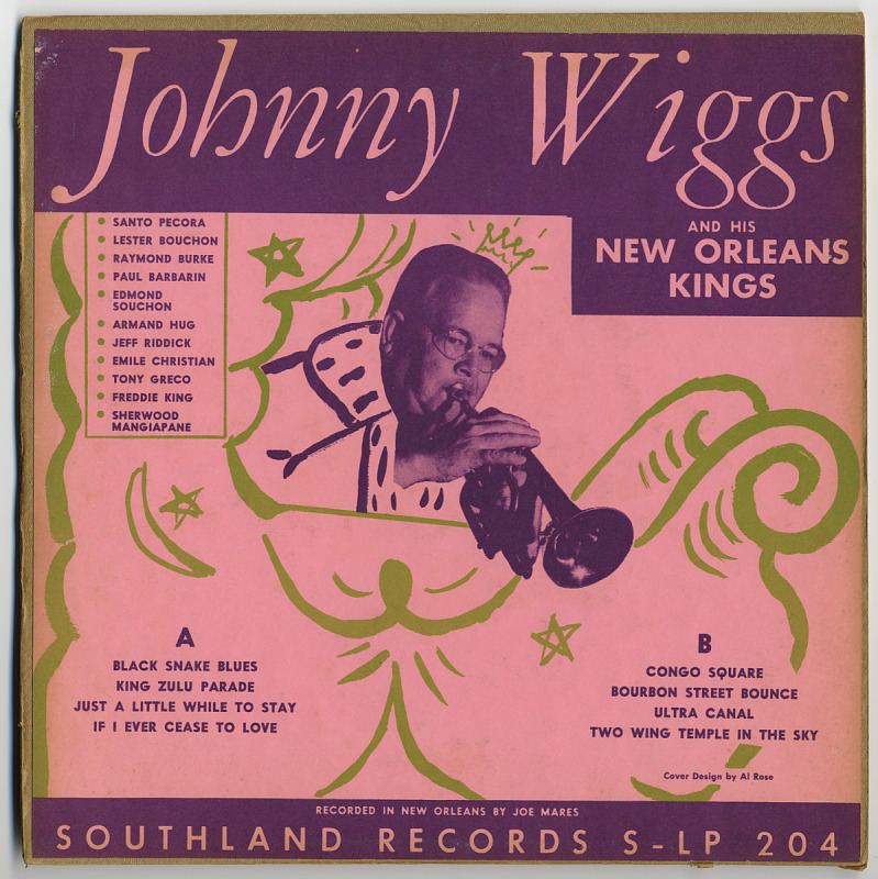 Image 1 for Johnny Wiggs and His New Orleans Kings