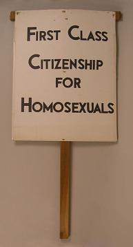 First Class Citizenship For Homosexuals