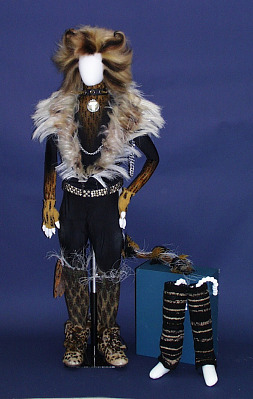 Collar From Rum Tum Tugger Costume Used In The Musical Cats National Museum Of American History