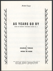 """""""As Years Go By"""""""