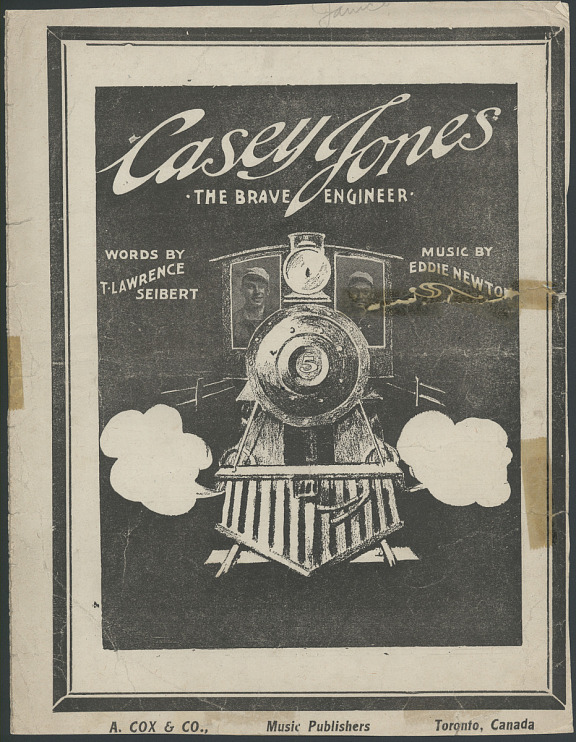 Casey Jones, Brave Engineer Sheet Music