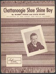 """Chattanoogie Shoe Shine Boy"""