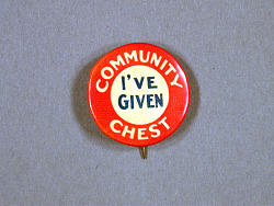 Community Chest Button