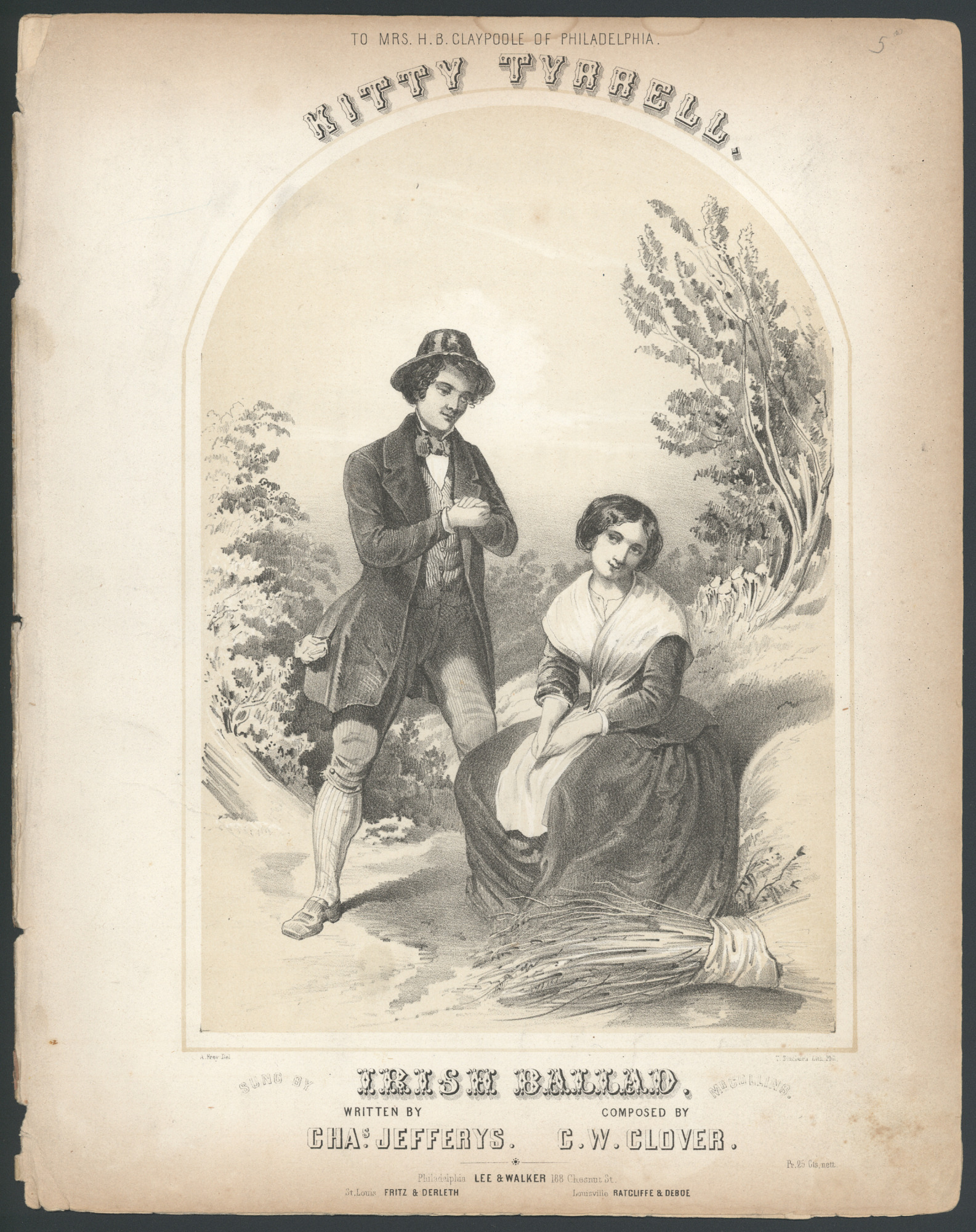 "images for ""Kitty Tyrrell, Irish Ballad"" Sheet Music"