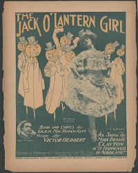 """The Jack O'Lantern Girl"""