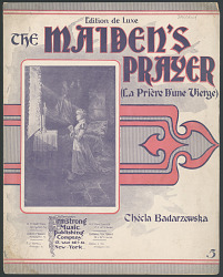 """The Maiden's Prayer"""