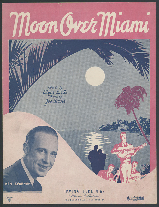 """Image for """"Moon Over Miami"""""""
