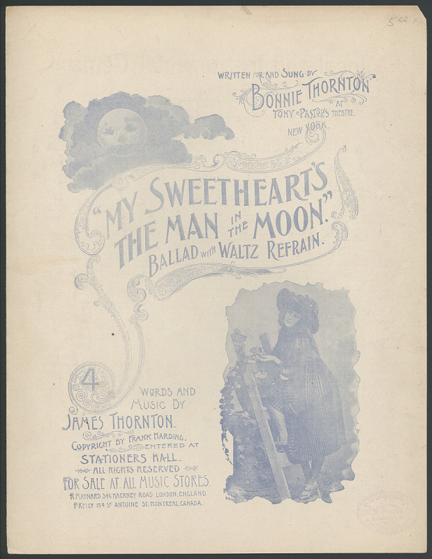 """Image for """"My Sweetheart's the Man in the Moon"""""""