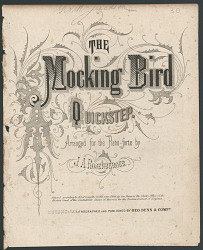 """The Mockingbird Quickstep"""