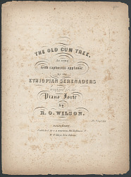 """The Old Gum Tree"""