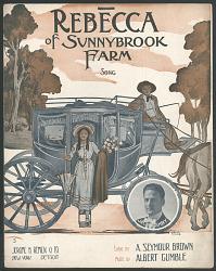 """Rebecca of Sunnybrook Farm"" Sheet Music"