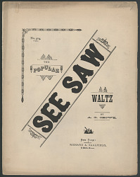 """See Saw (Waltz Song)"""