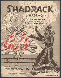 """""""Shadrack (Shadrach)"""" Sheet Music"""