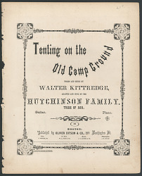 """Tenting on the Old Campground"" Sheet Music"
