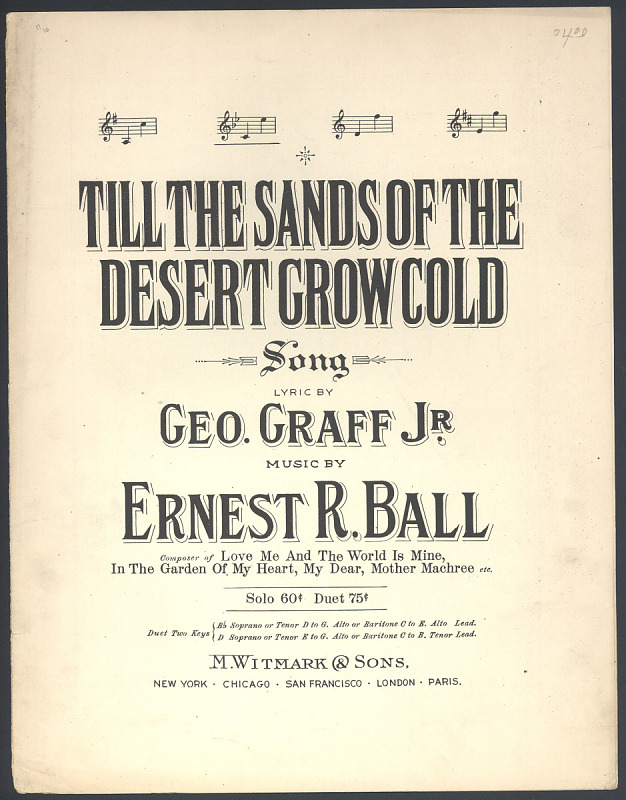 """Image for """"Till the Sands of the Desert Grow Cold"""""""