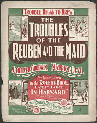 """The Troubles of the Reuben and the Maid"""